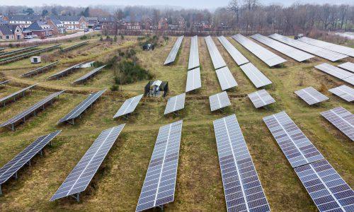 MorgenZon produceert groene waterstof op zonneparken