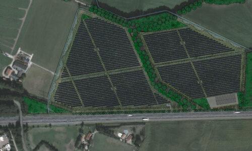 Grashoek koploper duurzaamheid: zonnepark met waterstof
