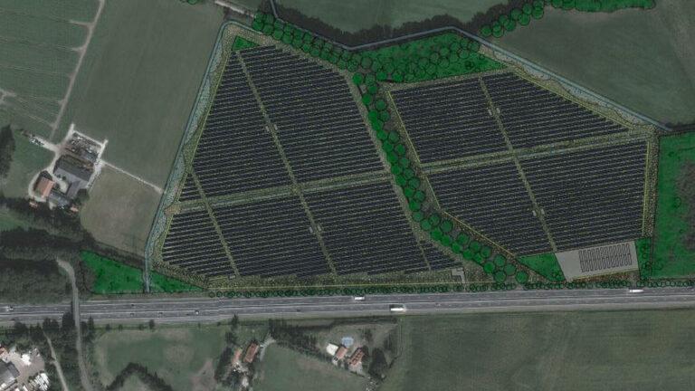 zonnepark spiesberg waterstof
